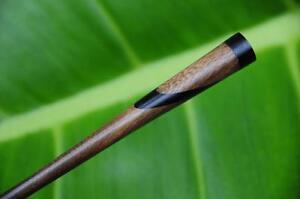 2 tone wooden HAIR JEWELRY PICK STICK PIN handmade Ebony & Sono wood Bali new