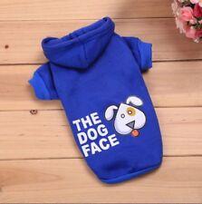 Hundebekleidung Hundeshirt Pullover Hoodie Chihuahua Blau The Dog Face S Yorky