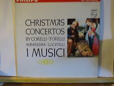 I MUSICI CHRISTMAS CONCERTOS PHILIPS STEREO LP # 900-025 WHITE LABEL PROMO N/M