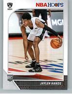 2019-20 Panini NBA Hoops Basketball 242 Jaylen Hands Rookie RC
