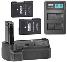 Ayex Battery Grip for Nikon D3400 With Remote, USB Twin Charger U.2 Batteries