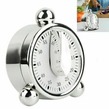 60 Minutes Kitchen Mechanical Timer Cooking Baking Reminder Alarm Clock Tool