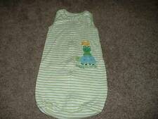 Carter's Baby Boys Striped Turtle Sleepsack Bag Size 0-9 months 0-3 3-6 6-9 mos