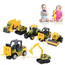 5pcs 1:64 Scale Alloy Car Truck Vehicle Models Kids Children Lorry Toy Gift Set