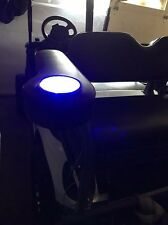 EZ GO / YAMAHA / CLUB CART ARM REST-CUP HOLDER WITH LED LIGHTS STAINLESS CUP