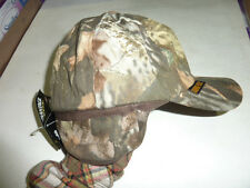 fitted large camouflage CAMO gortex HAT CAP HUNTING WATERPROOF GORE TEX ball