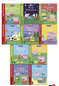 Peppa Pig Read It Yourself with Ladybird 10 Book Set - Level 1 & 2 - RRP £19.99