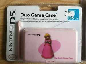 1x Duo Game Case Zelda Link Peach Mario Luigi Nintendo DS 3DS NEW by PDP +Stylus