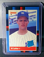1988 Al Leiter Donruss Rated Rookie #43 Baseball Card