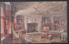 Worcestershire Postcard - The Cromwell Room, Lygon Arms, Broadway  RS7444