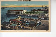 State Pier New Bedford Mass MA