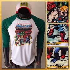 1984 MASTERS OF THE UNIVERSE vTg Mattel 80s MOTU HE-MAN toy new T-Shirt Jersey