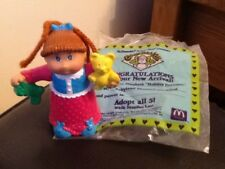 McDonalds HAPPY MEAL TOY. CABBAGE PATCH Doll. Holiday rêveur. Noël. NEUF RARE