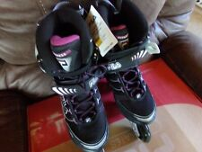 Fila Womens Primo Comp Inline Skates Lace Up Lightweight Strap Comfortable Fit