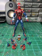 marvel legends Ben Reilly spider-man absorbing man baf Wave