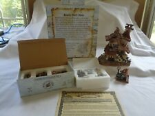 Boyds Bearly-Built Villages 1E/2174 Bearly Well Clinic #19008 w/#19508-1 & -2!