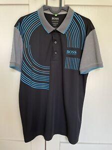 Hugo Boss Mens Golf Polo Shirt Size M Reg Fit