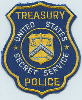 Vintage US Secret Service Treasury Department Police Uniformed Division Patch