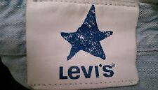 LEVIS BLUE STAR JEANS W 32 L 34