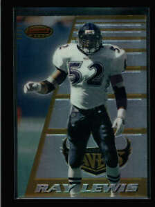 RAY LEWIS 1996 BOWMAN'S BEST #164 BASE ROOKIE RC (READ) N6199
