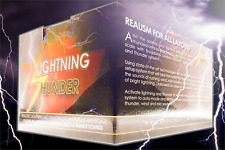 Broadway Limited 1598 Lightning & Thunder Accessory for Any-Scale Layout