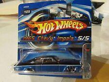 Hot Wheels 1965 Chevy Impala Muscle Mania #105 Short Card