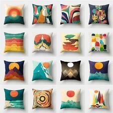 Geometric Pillow Case Throw Cushion Cover Pillowcase Sofa Bedroom Home Decor