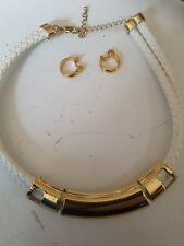necklace and ear ring set see pictures