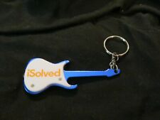 iSolved Guitar-shaped Keychain, with LED Light