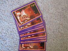 Vintage Lot 10 1980's Vegas World Hotel Casino Las Vegas Postcards Now Closed