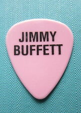 'Jimmy Buffett' Guitar Pick (Pink With Black Lettering)