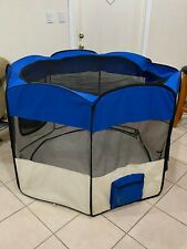 New listing Doggy Indoor Playpen (Minor tear )