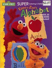 Sesame Street coloring book RARE UNUSED