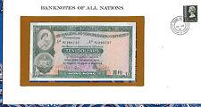 *Banknotes of All Nations Hong Kong 10 Dollars 1978 P182h UNC Prefix RJ