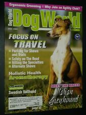 New ListingDogs World Illustrated Magazine Italian Greyhound Cover + Articles Jun 2004