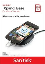 Sandisk® 128GB iXpand™ Base Charge/Backup Flash Drive for iPhone SDIB20N-128G