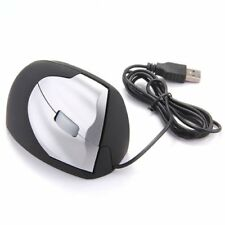 USB Kabelgebunden Maus optisch 3 Taste 800DPI Vertikal Ergonomisch DE J7G4 F7G5