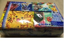 JAPAN KAWAII PIKACHU CARA POKEMON XY  POCKET TISSUE MINI KIDS SCHOOL 20 PACK !