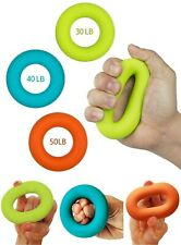 Grip Strength Trainer,Hand Grip Strengthener,Forearm Grip Workout - Grip Trainer