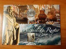 Nederland Numisbrief Mooi NL Vlissingen met Michiel de Ruyter 5 euro munt 2007