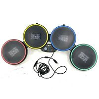 Xbox 360 Harmonix Rock Band 822149 Drum Set Wired Without Stand Or Peddle