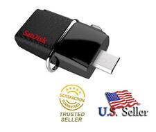 16GB SanDisk OTG Dual Ultra USB 3.0 Micro Flash Thumb Stick Drive - SDDD2-016G
