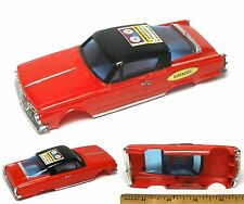 1967 Ideal Motorific 1/43 Barracuda Body Unused Odd Factory COMPUTER CAR STICKER