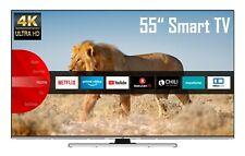 JVC LT-55VU8055 55 Zoll 4K UHD Smart TV Dolby Vision HDR Prime Video Netflix HD+