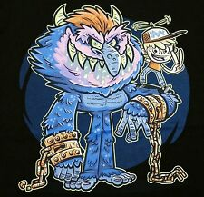 """Goodbye Cuffs, Goodbye Monsters"" My Pet Monster Men's Large Shirt Teevillain"