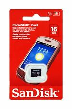 SanDisk Micro SD 16GB Class 4 microSDHC Memory Card - Upgrade your Mobile Phone