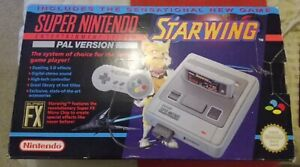 super nintendo console boxed + 2 games extra controller & free tv, top condition