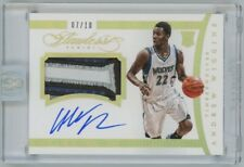 Andrew Wiggins 2014-15 Panini Flawless RPA Rookie Patch Auto Card 07/10