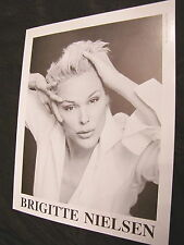 Model Agency Composit Vintage Brigitte Nielsen fashion Silvester Stallone wife 2