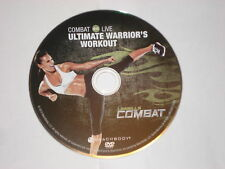 Les Mills Combat training- ULTIMATE WARRIOR'S WORKOUT DVD - REPLACEMENT DISC